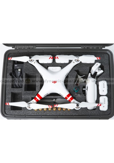 Dynamic Gear Cases for Phantom2 Vision+